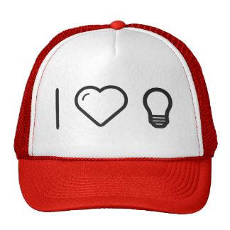 I Love Lightbulb Cap