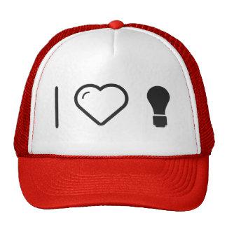 I Love Lightbulbs Cap