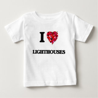 I Love Lighthouses Shirts