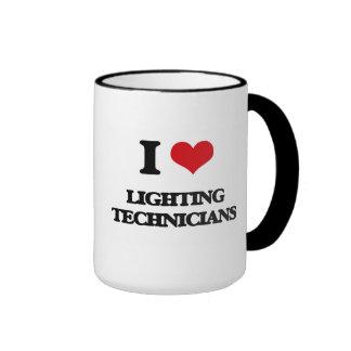 I love Lighting Technicians Coffee Mug
