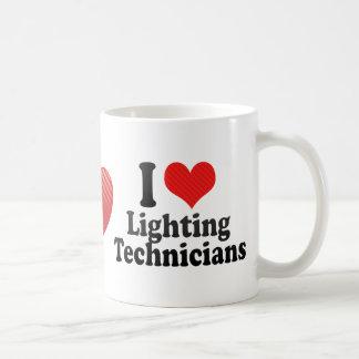 I Love Lighting Technicians Mug