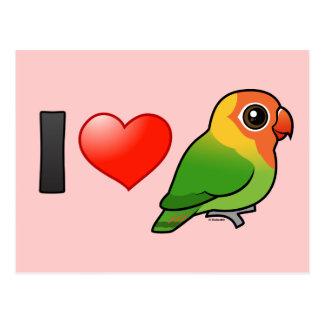 I Love Lilian s Lovebirds Post Cards