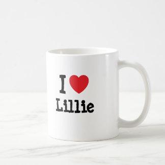 I love Lillie heart T-Shirt Mugs