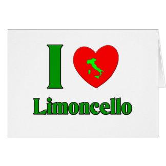 I Love Limoncello Card
