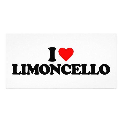 I LOVE LIMONCELLO PERSONALIZED PHOTO CARD