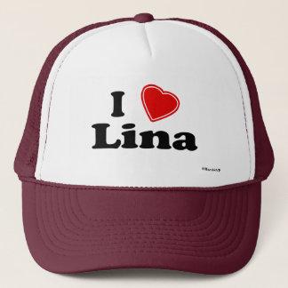 I Love Lina Trucker Hat