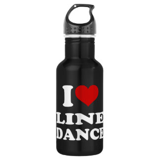 I Love Line Dance 532 Ml Water Bottle