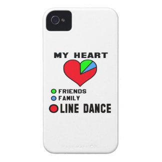 I love Line dance. iPhone 4 Case-Mate Cases