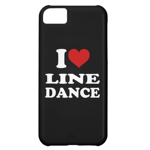 I Love Line Dance iPhone 5C Cover