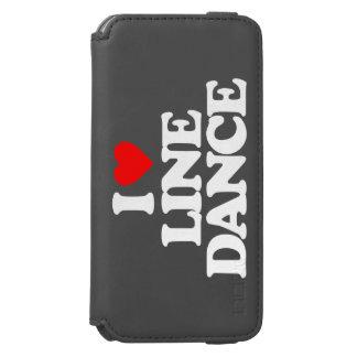 I LOVE LINE DANCE INCIPIO WATSON™ iPhone 6 WALLET CASE