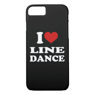 I Love Line Dance iPhone 8/7 Case