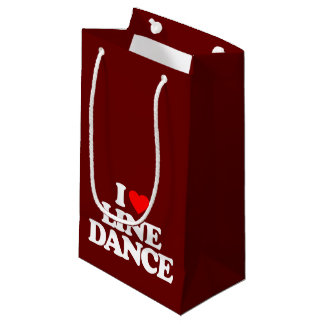 I LOVE LINE DANCE SMALL GIFT BAG