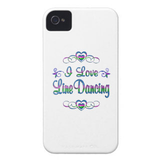 I Love Line Dancing Case-Mate iPhone 4 Cases