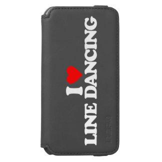 I LOVE LINE DANCING INCIPIO WATSON™ iPhone 6 WALLET CASE