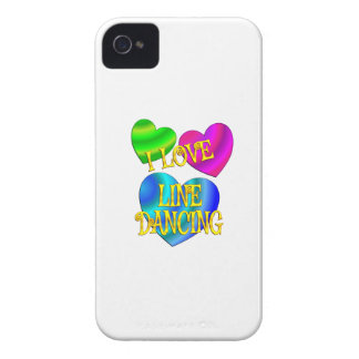 I Love Line Dancing iPhone 4 Case-Mate Cases