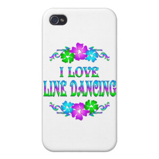 I LOVE LINE DANCING COVER FOR iPhone 4