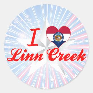 I Love Linn Creek, Missouri Stickers