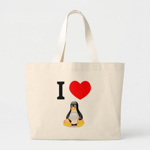 I love Linux Bags
