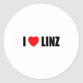 I Love Linz Stickers