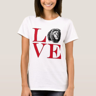 I Love Lions - Light Colored Tee