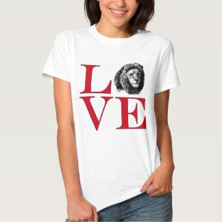I Love Lions - Light Coloured Tee