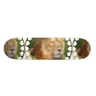 I Love Lions Skateboard