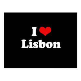 I LOVE LISBON POSTCARD