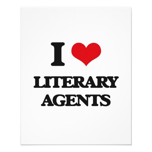 I love Literary Agents Personalized Flyer
