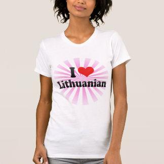 I Love Lithuanian T-Shirt
