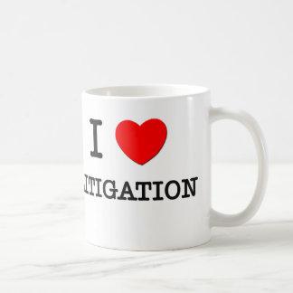 I Love Litigation Coffee Mugs