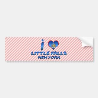 I love Little Falls, New York Bumper Sticker