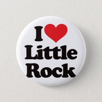 I Love Little Rock 6 Cm Round Badge