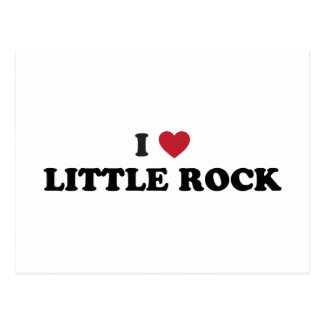 I Love Little Rock Arkansas Postcard