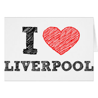 I love Liverpool Card