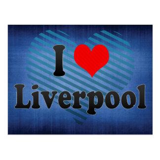 I Love Liverpool, United Kingdom Postcard