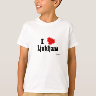 I Love Ljubljana T-Shirt