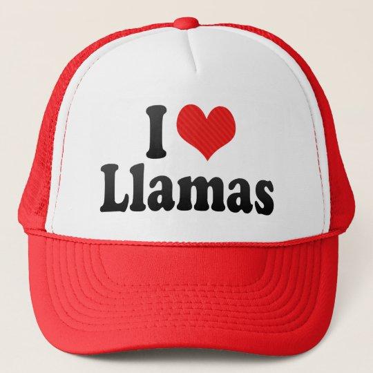 I Love Llamas Cap
