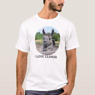 I LOVE LLAMAS SHIRT