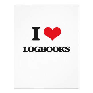 I Love Logbooks Flyer
