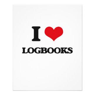I Love Logbooks Full Color Flyer