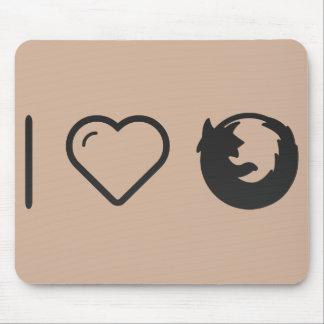 I Love Logotypes Mouse Pad