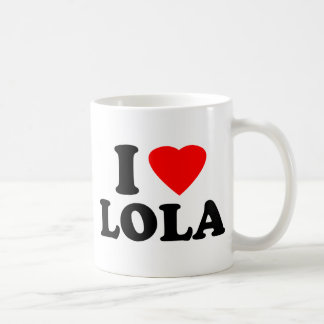 I Love Lola Coffee Mug