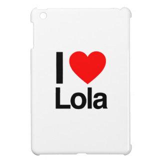 i love lola iPad mini cover