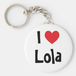 I Love Lola Keychain