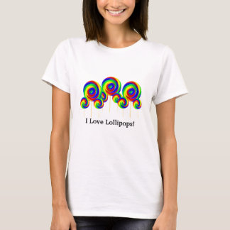 I Love Lollipops t-shirt