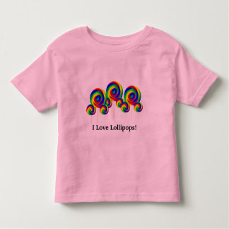I Love Lollipops t-shirt kids