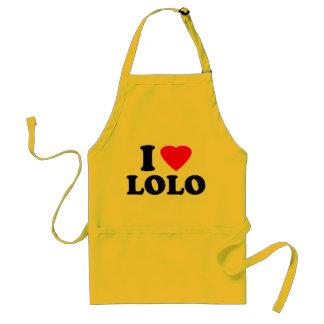 I Love Lolo Standard Apron