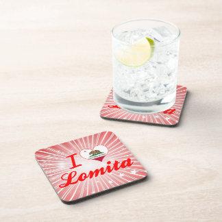 I Love Lomita California Beverage Coaster