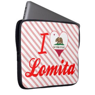 I Love Lomita California Computer Sleeve