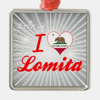 I Love Lomita, California Ornaments